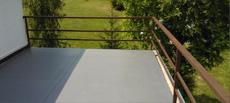 Izolace teras a balkonů