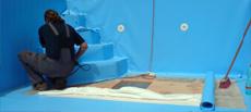 Izolace bazénů a jezírek